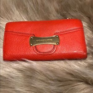 Michael Kors full size leather wallet